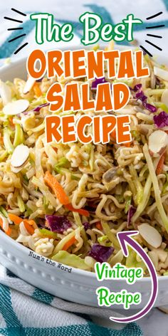 Potluck Side Dishes, Side Dishes For Bbq, Veggie Side Dishes, Recipe For Side Dishes, Sides For Bbq, Asian Side Dishes, Coleslaw With Ramen Noodles, Asian Ramen Noodle Salad, Ramen Salad With Cabbage