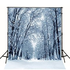 Snow Mountain Landscape View Photography Backdrop 10x7ft Vinyl Winter Photography Background Wedding Holiday Birthday Backdrop Photo Studio Backdrop Theme Party Backdrop E00T10181