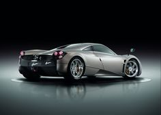 "Pagani Huayra • Italian • Huayra-tata means ""God of the winds"" in Quechua (Inca) • godly price $1.3M • ""The Hypercar of the Year 2012"" by Top Gear (C9 since 2003)  •  twin-turbo Mercedes! AMG 60° V-12 engine / 6L / 730hp / 1000 N-m (740 lbs) torque / 370kph (230mp)! / 100kph (0-60mph) 3.3sec • competition: Bugatti Veyron / Porsche Carrera GT / Ferrari Enzo / Mercedes McLaren SLR"