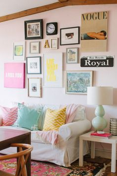 Decorating with Roommates | The Everygirl