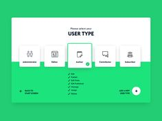Dribble Daily UI 064 Select User Type - 30 Yr Amortization Calculator- Watch it before you plan to payoff your mortgage. Kiosk Design, Web Ui Design, Page Design, 2020 Design, Flat Design, Landing Page Inspiration, Web Design Inspiration, Webdesign Layouts, Portal Design
