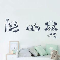 Vinilos decorativos de osos bebés, el adhesivo ideal para decorar la habitación de tu bebé. #viniloosos Wall Painting Decor, Diy Wall Art, Bedroom Design For Teen Girls, Panda Art, Room Decor, Wall Decor, Decorative Panels, Vintage Tags, Painting For Kids
