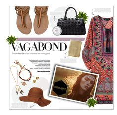 """""""Vagabond"""" by leinapacheco ❤ liked on Polyvore featuring Essie, Nearly Natural, Billabong, Tada & Toy, Jennifer Behr, Dorothy Perkins, Rivka Friedman, WILD & FREE and genuinepeople"""