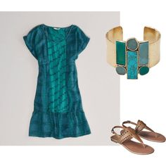 """Summer Evening"" by cara-weidinger on Polyvore"