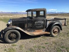 1931 Ford Model A Pickup, Classic Survivor, Possible Rat Rod or Hot Rod