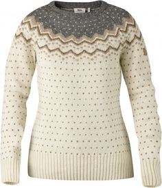 premium selection c33d4 eab10 Comfortable sweater in soft, warm wool for everyday use and relaxed outdoor  life. A beautiful patterned garment that also has excellent functionality  ...