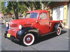 I love vintage trucks.