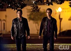"""Isobel"" - Ian Somerhalder as Damon, Paul Wesley as Stefan in THE VAMPIRE DIARIES on The CW. Photo: Bob Mahoney/The CW ©2010 The CW Network, LLC. All Rights Reserved."