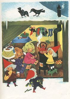 Felicitas Kuhn - Christmastime in Pixieland - keeping warm