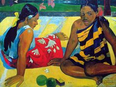 Paul Gauguin - Post Impressionism - Tahiti - Femmes sur la plage 2 - Women on the beach 2 - 1892