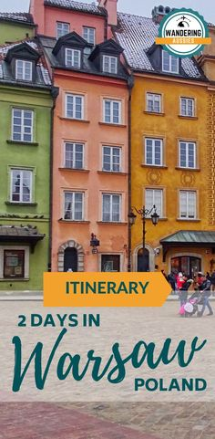 Experience 2 Days In Warsaw Poland on a small budget. Warsaw is a place full of history and culture and is a must on your travel list. Read on to learn more...  #traveltips #travelitinerary #thingstodo