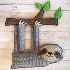 SO cute!  Ragdoll Sloth by Spin a Yarn Crochet  https://spinayarncrochet.com/ragdoll-sloth-free-crochet-pattern/