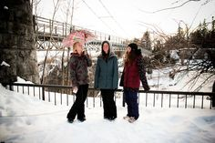 Wanderlust: street style with Joanie Robichaud, Danyale Patterson, and special guest Marie Hucal #snow