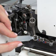 Learn the steps to clean and maintain your overlocker in this Overlocker Care Cleaning Tutorial from WeAllSew. Sewing Machine Basics, Sewing Machine Thread, Sewing Machines, Sewing Blogs, Sewing Hacks, Sewing Tips, Sewing Ideas, Quilting Tutorials, Sewing Tutorials