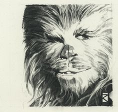 Chewbacca by Russell Walks