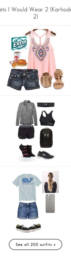 """""""Sets I Would Wear 2 (Karhodes 2)"""" by boredsnake ❤ liked on Polyvore featuring Miss Me, Qupid, Under Armour, Vineyard Vines, Topshop, Vans, Native Union, Muse, Ivory Ella and Converse"""