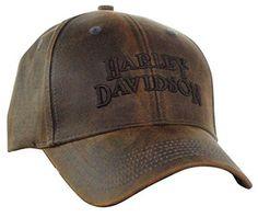 ce32c4361f4 Harley-Davidson Regal Brown Stone Washed Baseball Cap Motorcycle Hat  BC111439 Harley Davidson Hats