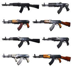 The legendary AK-47