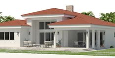 house plans 2019 10 house plan 5 H. Indian House Plans, New House Plans, Modern House Plans, House Floor Plans, Flat Roof House, House Outside Design, 2 Storey House, Plans Architecture, Architectural House Plans
