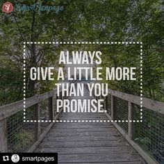 """#Repost @smartpages ・・・ """"Always give a little more than you promise."""" - The Studebaker Brothers   Words to live by!  #marketing #digitalmarketing #entrepreneur #entrepreneurs #entrepreneurship #success #successful #startup #startups #onlinebusiness #businessman #businesswoman #socialmediamarketing #smallbusiness #startupweekend #growthhacking #lifestyledesign #founder #quote #quoteoftheday #bestoftheday #photooftheday #instadaily #instafollow #followme #business #instaquote"""