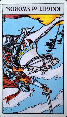 20 Aug 2015: #DailyCardReading #PsychicReading #tarot #SpiritualGuidance  KNIGHT of SWORDS (rev) ~ Whoa...what's the hurry? Slow down - there's nothing you can do that will get things to happen any quicker than they already are. At times we rush the process and miss important steps in the lead up to it that can bring immense learning and even more opportunities. Don't be too alarmed if someone ...See the whole reading at https://www.facebook.com/AmethystRoseNewAgeProductsandServices <3…