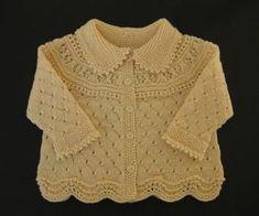 Ravelry: Jacket, pants, hat, socks, blanket pattern by DROPS design Baby Sweater Patterns, Baby Cardigan Knitting Pattern, Knitted Baby Cardigan, Knit Baby Sweaters, Baby Pullover, Girls Sweaters, Baby Knitting Patterns, Baby Patterns, Baby Knits