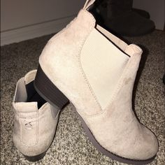 Ankle Booties Brand new. Purchase from H&M. These are Youth size 3, fit me and I'm a women's 5-6 H&M Shoes Ankle Boots & Booties
