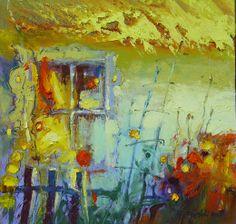 "Peinture \""Tryptyk z oknami I\"" - L"