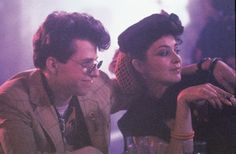 jon cryer and annie potts in pretty in pink