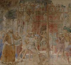 Resultado de imagen de benozzo gozzoli Construcción de la Torre de Babel