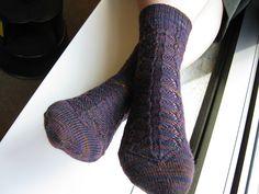 Mountain Colors Crazyfoot  Ravelry: EllenOhio's Sock Club #5