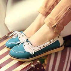 cute blue shoes!