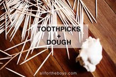 Toothpick Construction — All for the Boys Fun Projects For Kids, Kids Learning Activities, Summer Activities For Kids, Crafts For Kids, Toothpick Crafts, Indoor Crafts, Summer Fun For Kids, Kids Church, Inspiration For Kids