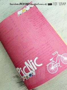 Tutorial Mini Álbum Desestructurado: http://lavidaenscrap.blogspot.com.es/2014/09/tutorial-mini-album-desetructurado.html