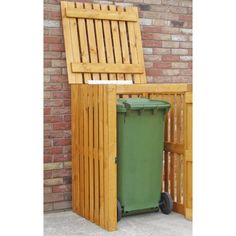 Free delivery over to most of the UK ✓ Great Selection ✓ Excellent customer service ✓ Find everything for a beautiful home Pallet Storage, Storage Bins, Triple Bin Store, Outdoor Storage Units, Garden Waste Bags, Honey Brown, Dcor Design, Garden Projects, Garden Ideas