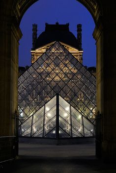 Louvre - I hate the Pyramid plunked in the middle of the courtyard.  I remember when it wasn't there and the space was wonderful and grand.