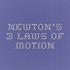 Good hook for a Newton's Law essay?
