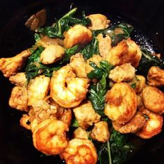 @estherkatzman gave our Collards with Turkey Sausage and Shrimp a whirl and it looks so yummy and full of protein! Clean Eating. Recipe here: http://www.cleaneatingmag.com/Recipes/Recipe/Collards-with-Turkey-Sausage-and-Shrimp.aspx