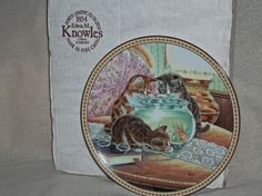 VINTAGEKnowles Collector PlateFish Tales by acraftingheart on Etsy, $25.00
