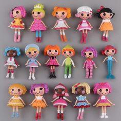 New hot 16pcs/set Lalaloopsy collectors action figure toys Christmas gift doll
