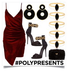 """""""#PolyPresents: Statement Jewelry"""" by tsana ❤ liked on Polyvore featuring Bing Bang, Boohoo, Giuseppe Zanotti, contestentry and polyPresents"""