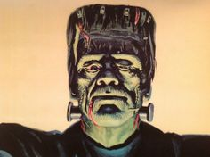 Vintage Honor House Products 6 foot Frankenstein Poster from the 1960's 20% off two days only.