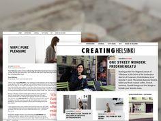 Creating Helsinki - Web Development