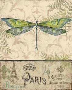 I uploaded new artwork to fineartamerica.com! - 'Vintage Wings-paris-g' - http://fineartamerica.com/featured/vintage-wings-paris-g-jean-plout.html via @fineartamerica