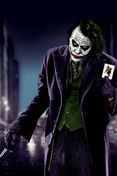 The Joker  He is still my all time Favorite Villain in all the Batman Movies, He was so amazing!