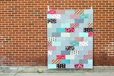 Nordika Side Braid Quilt by Jeni Baker, via Flickr