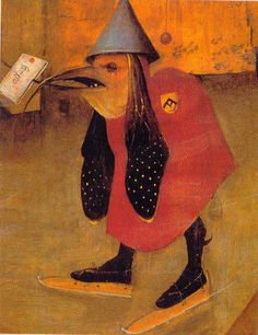 Hieronymus Bosch - The Temptation of St. Anthony (detail), 1501