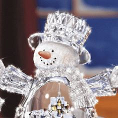 Sparkle snow man
