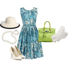 I love everything about this outfit! Hmm maybe for the horse track??