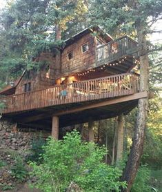 Rocky Mountain Treehouse - Treehouses for Rent in Carbondale
